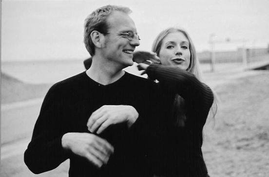 Jan-Erik Sääf och Sarah Nilsson